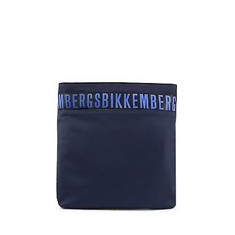 Bikkembergs - Bolsos - Bolsos de hombro - E2APME800022F96-Navy-RoyalBlue - Hombres - navy,royalblue