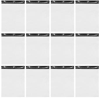 100pcs wasserdichte weiße selbst versiegeln Deexpress Taschen Kunststoff Packtasche (weiß)