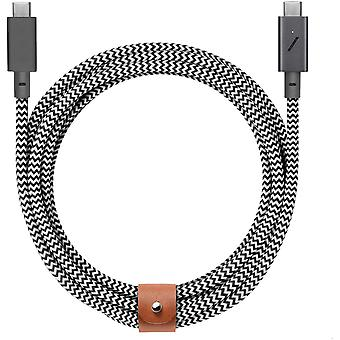 HanFei Type-C Belt Cable Pro - USB-C to USB-C - 8ft Ultra-Strong Charging Cable Compatible with