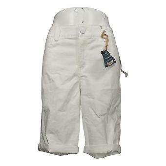 "Democracy Women's Petite Shorts ""Ab""solution Bermuda Short White 744861"