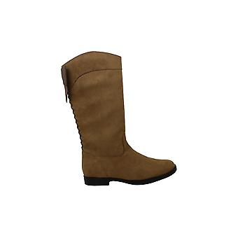 Kenneth Cole New York Girls KENNEDY BOW Suede Knee High Zipper Riding Boots