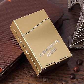 Aluminum Cigar Cigarette Tobacco Holder Storage Case Able To Place In 20pcs Cigarette