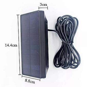 Outdoor hunting camera solar panel 1800mah 9v waterproof charger battery for ordinary trail camera excluding 2g 3g wifi camera