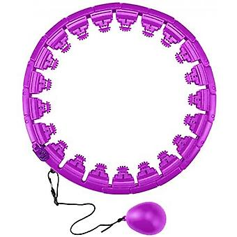 Hoola Hoop For Adults Weight Loss With 24 Detachable Knots