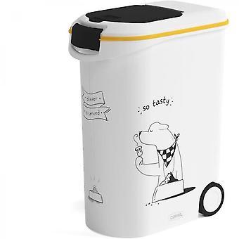 Curver Futterbehälter für Hund - 54 L / 20 Kg