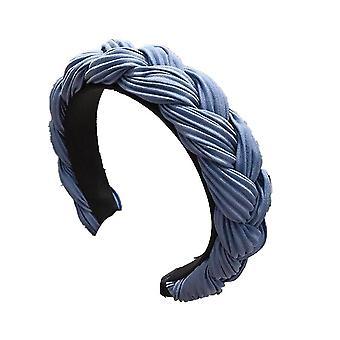 2PCS New Fashion Femei Hairband Cross Knot Braid Headband Adult toamna iarna headwear wide side