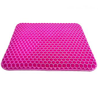 Gel Seat Cushion,double Thick Egg Seat Cushion(Pink)