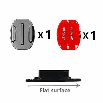 4 Pcs Flat Curved Mount Set Sticker 3m Adhésif pour Gopro Hero 9 8 7 6 5 4 Yi