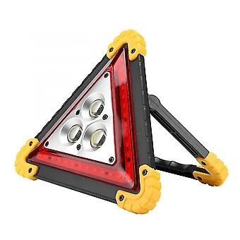 Car Breakdown / Stop Sign With Led Warning Light