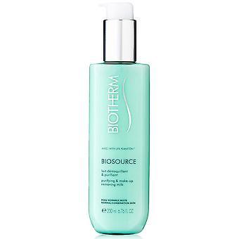 Make Up Remover Cream Biosource Biotherm (200 ml)