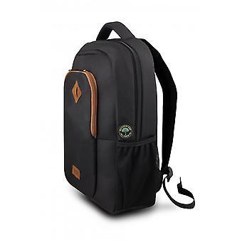 "Laptop Backpack Urban Factory ECB15UF Black 14"""