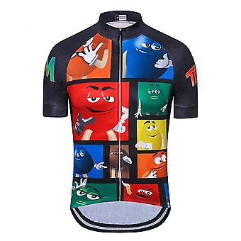 Cycling Jersey Men Mountain Biking Shirts Breathable Racing Mtb Bicycle Clothes Uniform Short Sleeve Quick Drying Cycling Clothes