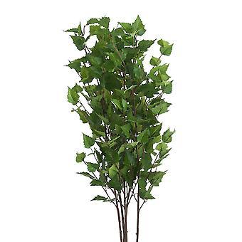 Fresh cut flowers artificial faux green branch spray