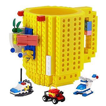 klosseformet kreativ byggeklosskrus (tilfeldige blokker)