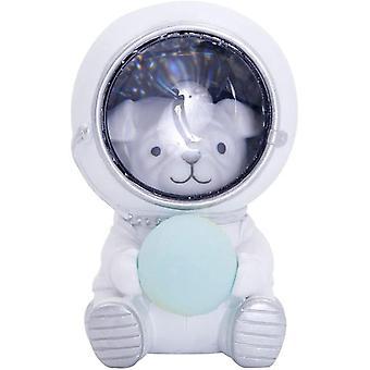 Nachtlicht Sternenhimmel Tierform Astronaut Nacht Licht-Haus Welpen Dekoration