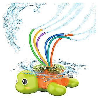 Kinder Sprinkler, Kinder Spielzeug Sprinkler, Wasser Sprinkler Spielzeug, Kinder Sprinkler Spielzeug, Wal Spielzeug für Pool, Garten, Rasen, Outdoor Spiel Schildkröte