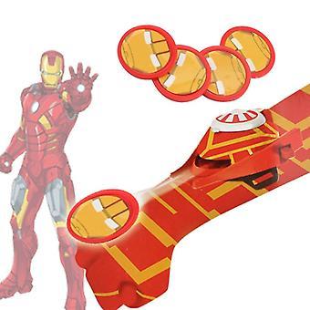 Disney Plastique Cosplay Iron Man Glove Launcher Drôle de jouet