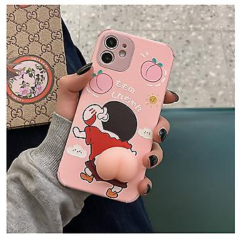 Suitable For Iphone11 Mobile Phone Case Crayon Shin-chan Butt