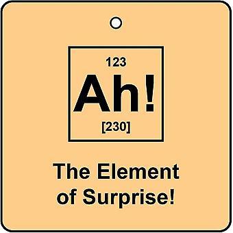 Ah! Das Element der Überraschung Auto-Lufterfrischer