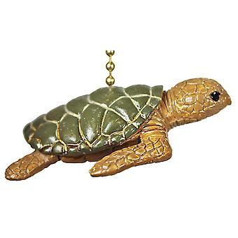 Reef Ocean trooppisia kilpikonna Tiki kattotuuletin tai ketjua