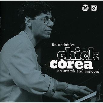 Chick Corea - Definitive Chick Corea on Stretch & Concord [CD] USA import