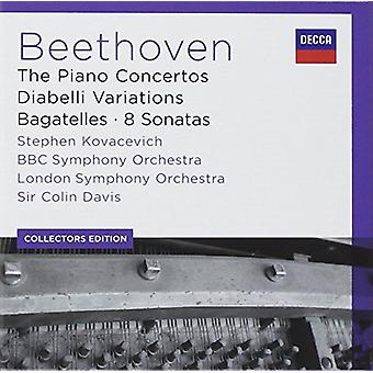 Kovacevich/Davis/BBC Symphony Orchestra - Coll Ed: Beethoven-the Piano Concertos/Diabell [CD] USA import