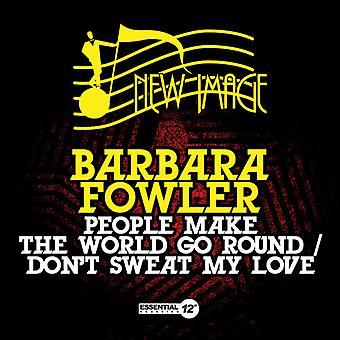 Barbara Fowler - Menschen machen World Go Round / Don't Sweat My Love [CD] USA import