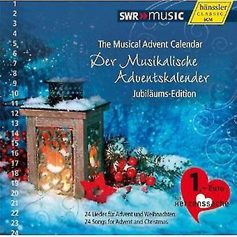 Handel/Piazzolla/Bach/Vivaldi/Gruber/Bernard/Hamme - calendario Musical de Adviento: Importación de Estados Unidos Jubil Ums-edición [CD]