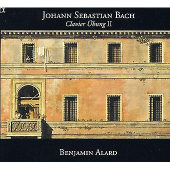 Benjamin Alard - Johann Sebastian Bach: Clavier Bung II [DVD] USA import