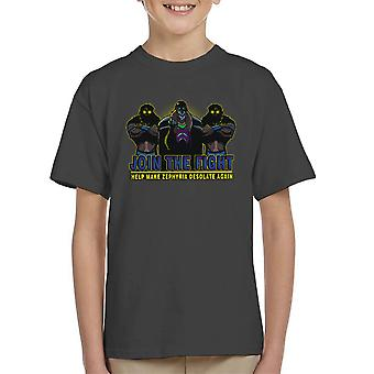 Join Vulchazor Son Of Zorn Kid's T-Shirt