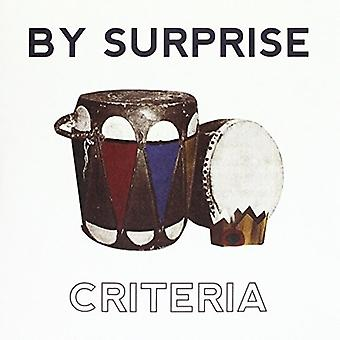 By Surprise - Criteria [Vinyl] USA import