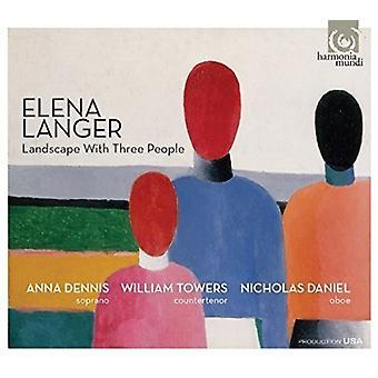 Langer, E. / Daniel, Nicholas / Dennis, Anna - Landscape with Three People - Ariadne John Donne [CD] USA import