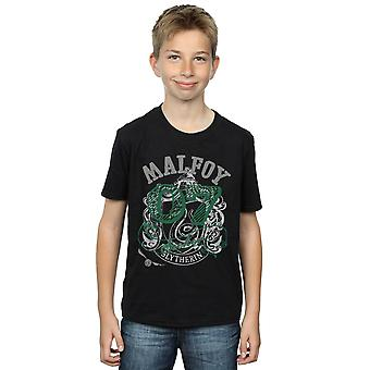 Harry Potter Boys Draco Malfoy Seeker T-Shirt
