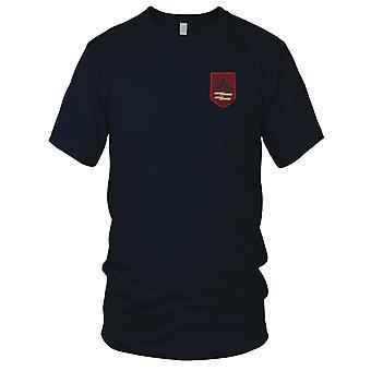 22. ARVN infanteri Division - rød militære emblemer Vietnamkrigen broderede Patch - Herre T-shirt