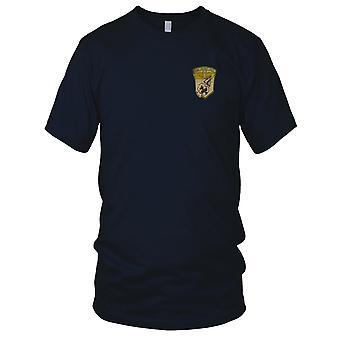 USMC Marine vliegtuig Group 11 - militaire Vietnamoorlog geborduurde Patch - Mens T Shirt