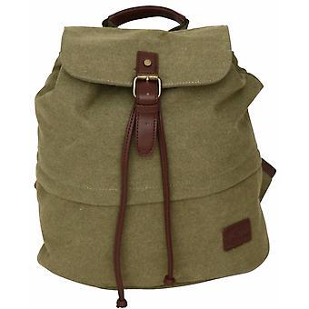 Retro Canvas Backpack Vintage Style Rucksack Ladies Shoulder School Bag Unisex