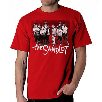 Sandlot Team Men's Red T-shirt