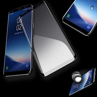 Prémio de 4D completo filme de vidro duro preto 0,3 mm dobrado para Samsung Galaxy S9 G960F