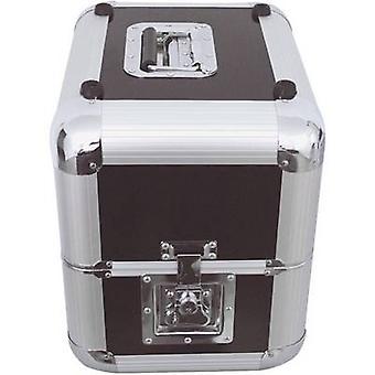 Plattencase Aluminuim Hartkoffer (L x B x H) 380 x 300 x 365 mm