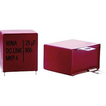 WIMA DC-LINK DCP4L042006AD4KYSD 1 computador (es.) capacitor de filme fino MKP Radial leva 2 µF 800 V 10% 27,5 mm (L x W x H) 31,5 x 9 x 19 milímetros