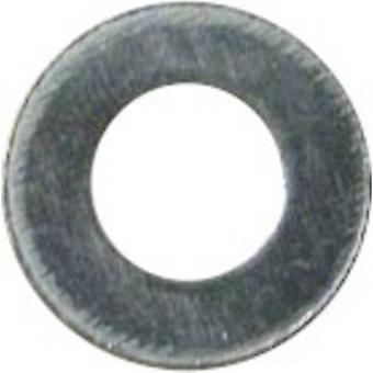 غسالات 3.2 ملم 7 ملم الزنك الصلب مطلي 100 جهاز كمبيوتر (ق) أداة كرافت A3،2 D125:A2K 191558
