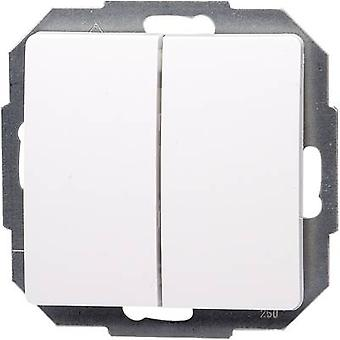 Kopp insertar interruptor París blanco 650302080