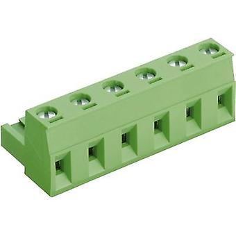 Caja zócalo PTR - cable AKZ960 número de espaciamiento de pernos 4 contacto: 7.62 milímetros 50960040021E 1 PC