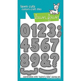 Gazon bezuinigingen aangepaste ambachtelijke sterven - Quinn's 123 van