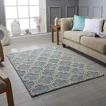Medina alfombras en azul