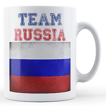 Team Rosja - kubek z nadrukiem