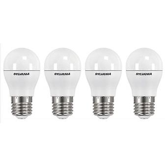4 x Sylvania ToLEDo Ball Dimmable E27 V3 5.6W Daylight LED 470lm [Energy Class A+]