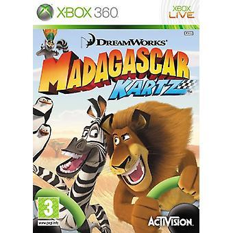 Madagaskar Kartz (Xbox 360)-ny