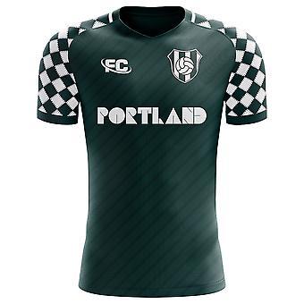2018-2019 Portland Timbers Fans Culture Home Concept Shirt - Kids