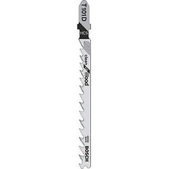 Bosch T101D Jigsaw Klinge Pk 5 sauber geschnitten für Holz
